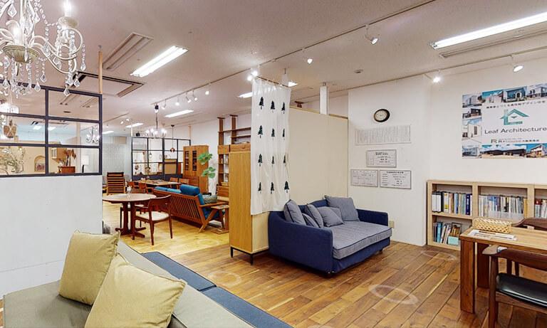 大阪市の新築一戸建ての注文住宅を建てるハウスメーカーのショールーム