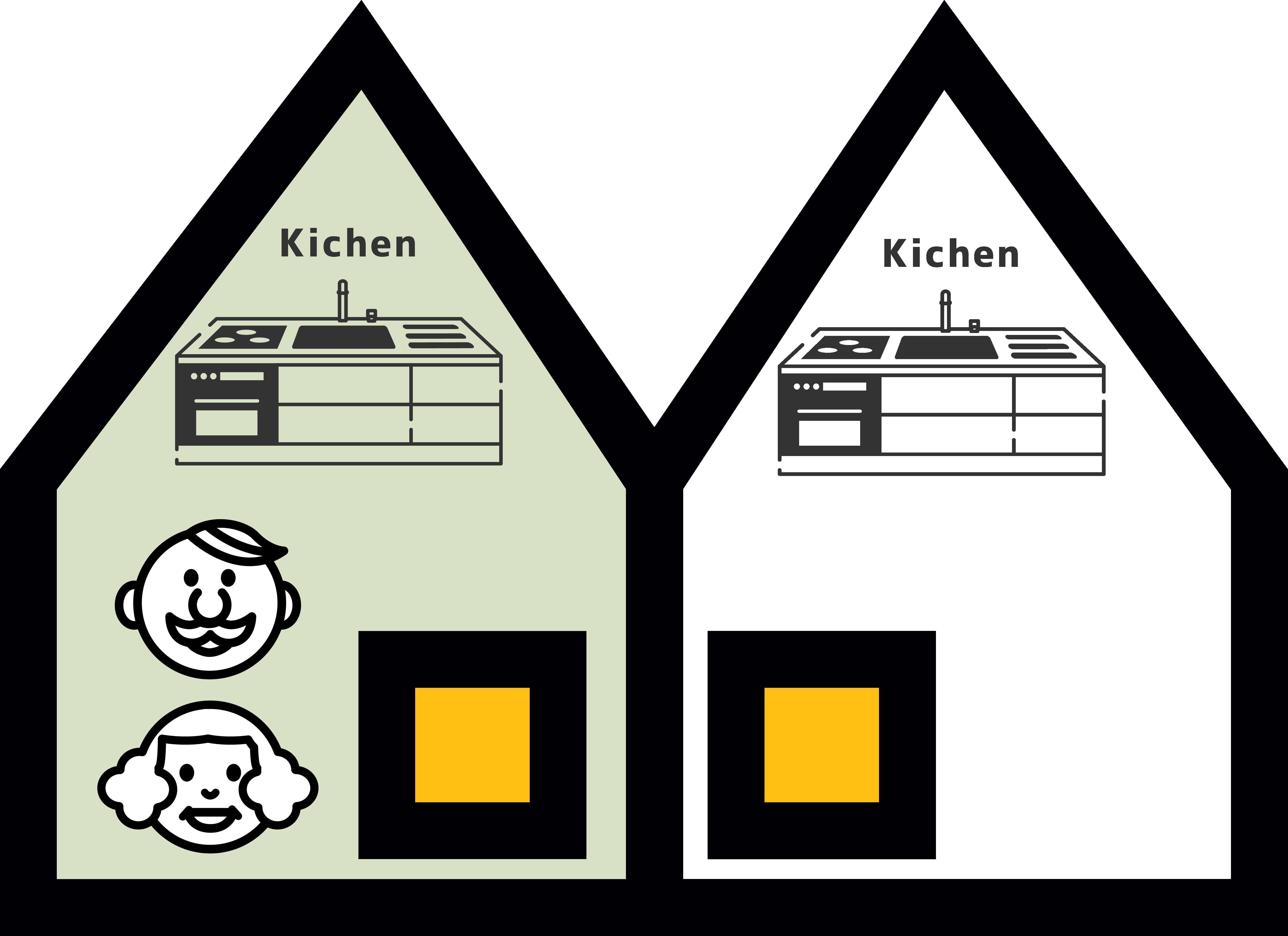 大阪で二世帯住宅パターン2