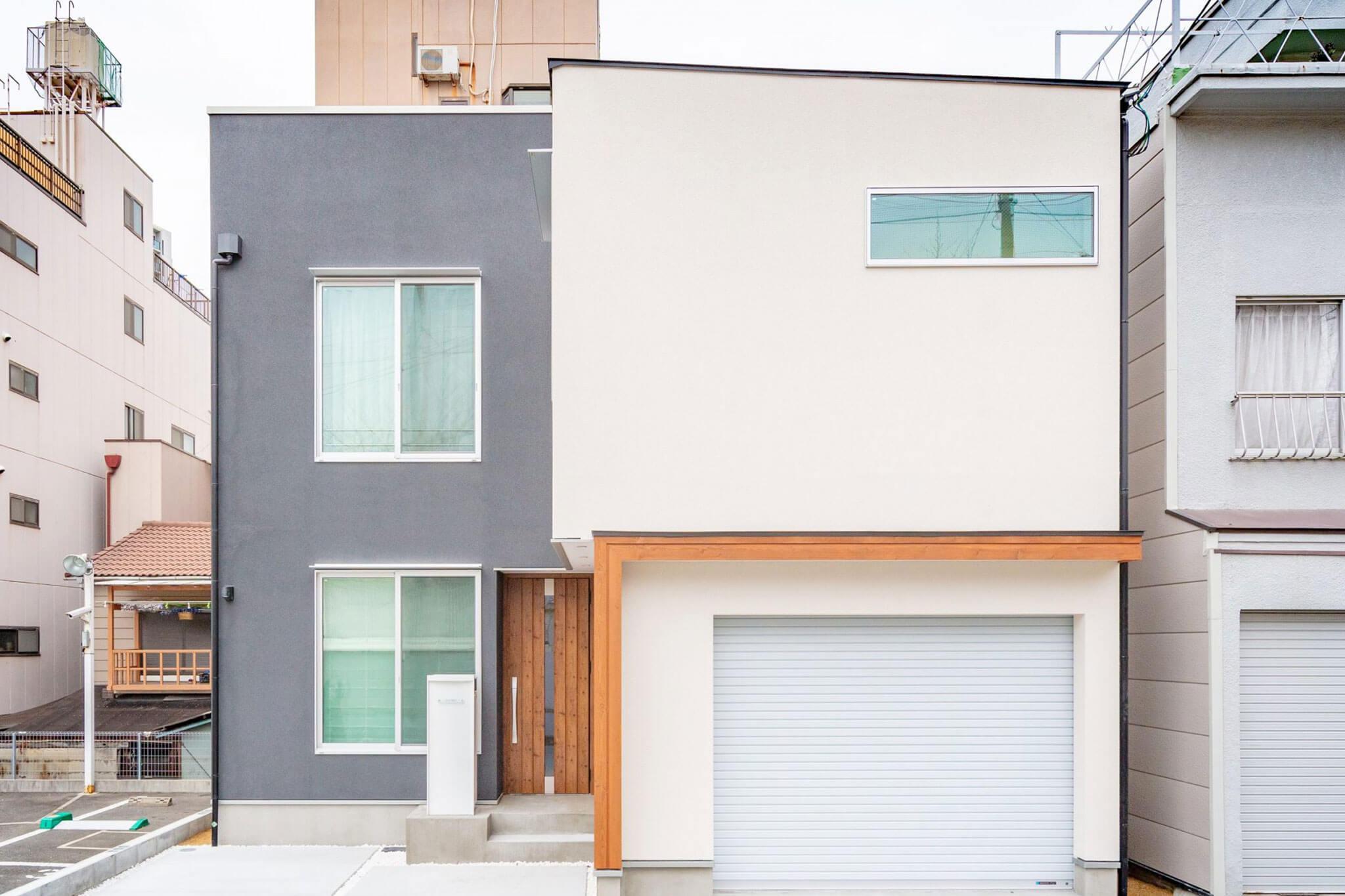 大阪市で屋上庭園のある家