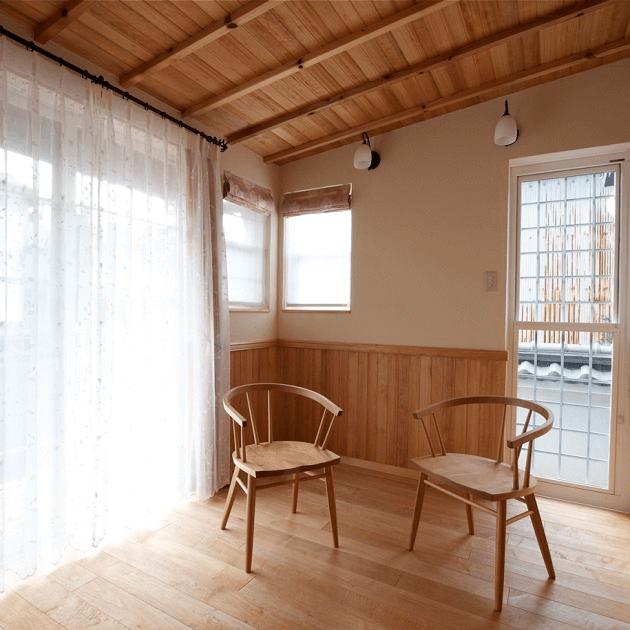 住宅のリノベーションごの内装