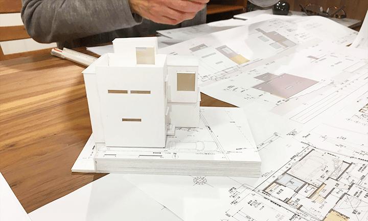 大阪市の建築家のデザイン住宅