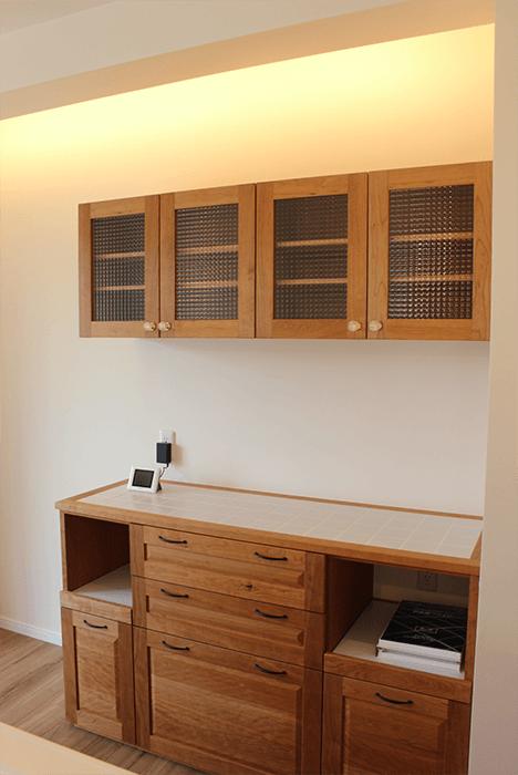 大阪市の造作家具のキッチン