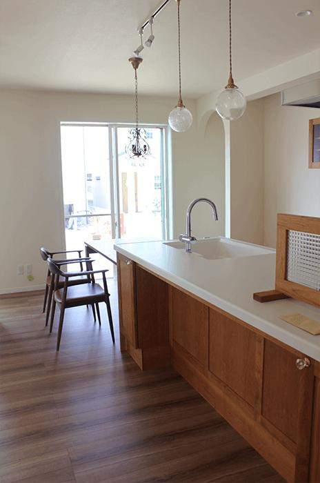 大阪市のオーダー家具のキッチン