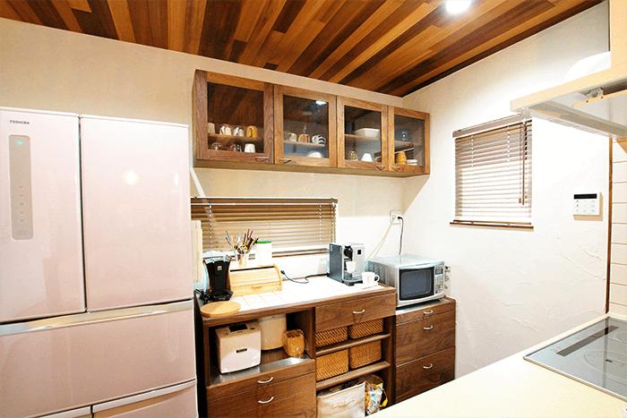 兵庫県のオーダー家具のキッチン