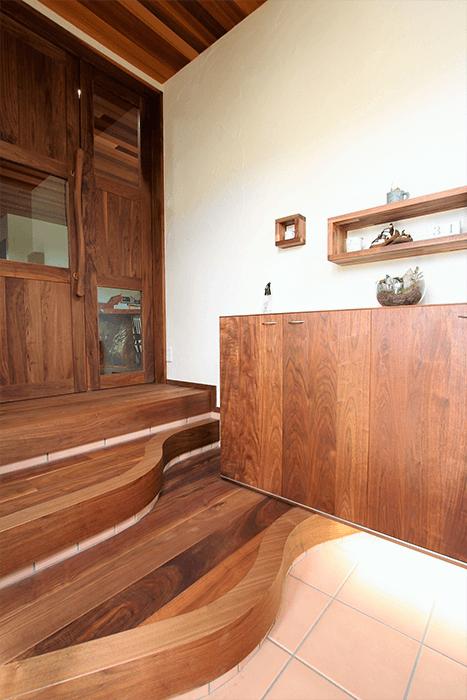 兵庫県のオーダー家具のリビングボード