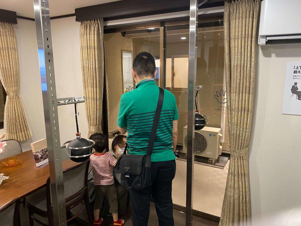 リクシル大阪南港ショールームの住まいスタジオ | 大阪の高気密高断熱住宅はリーフアーキテクチャ