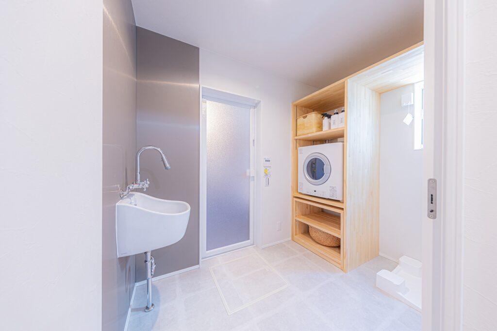 ガス乾燥機「幹太くん」付きの住宅なら大阪狭山市のリーフアーキテクチャ